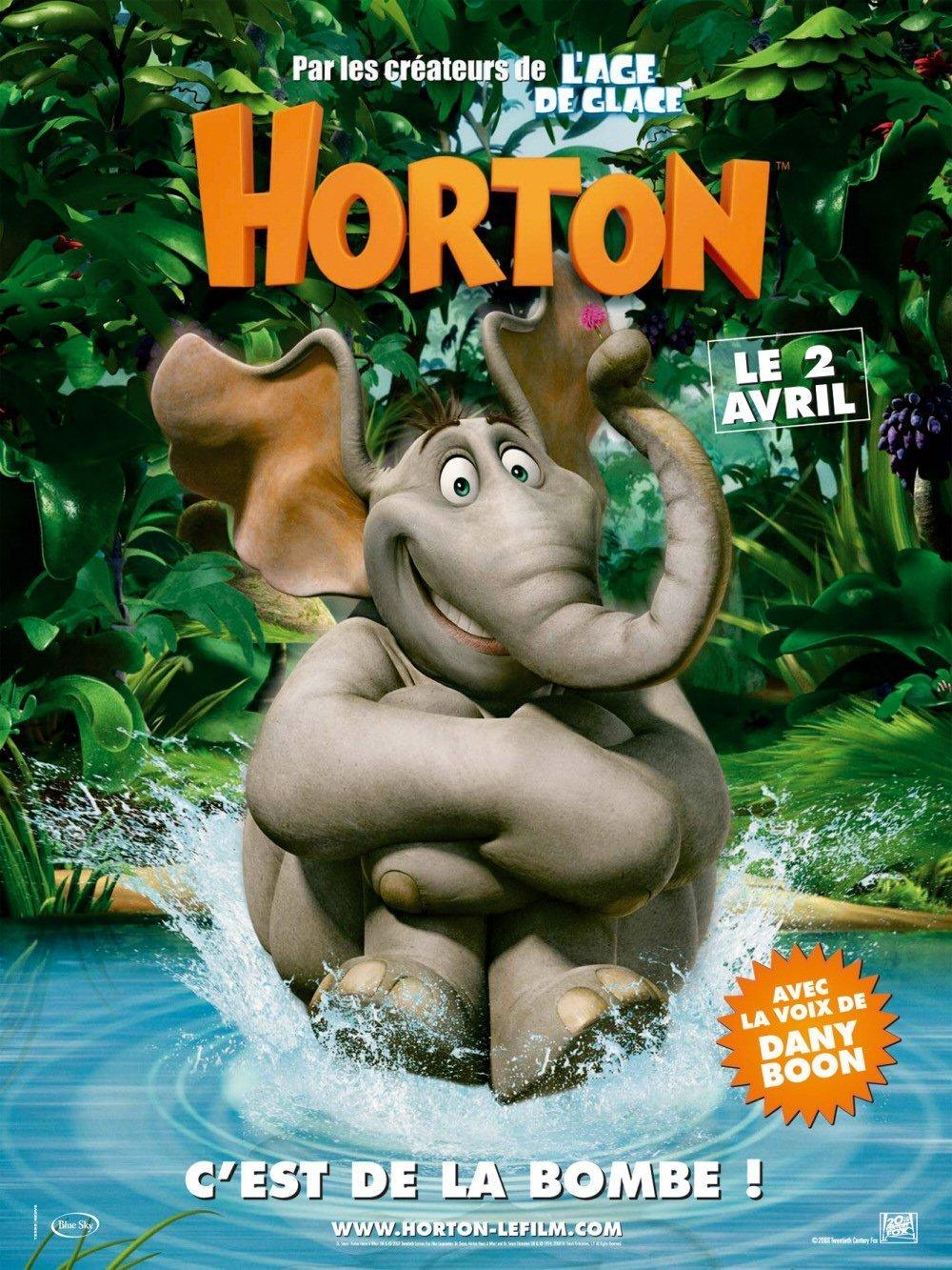 """Affiche du film """"Horton"""""""