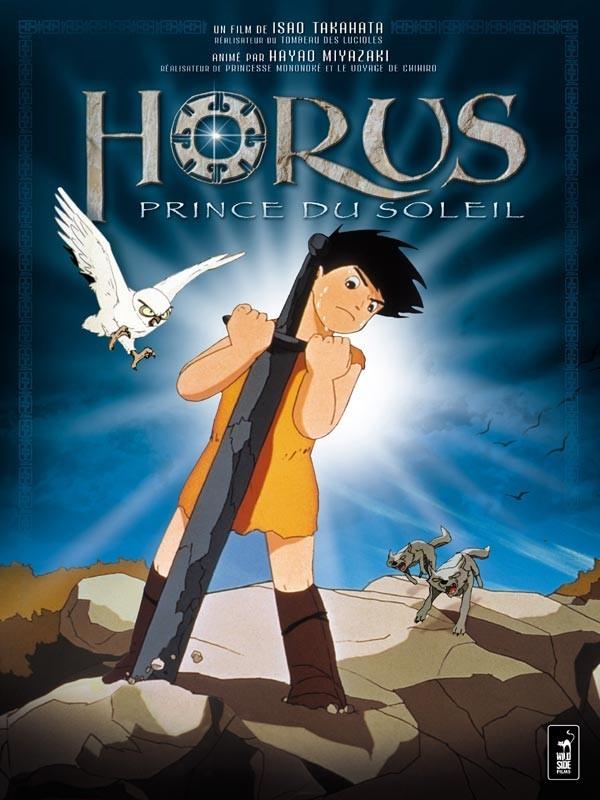 """Affiche du film """"Horus, prince du soleil"""""""