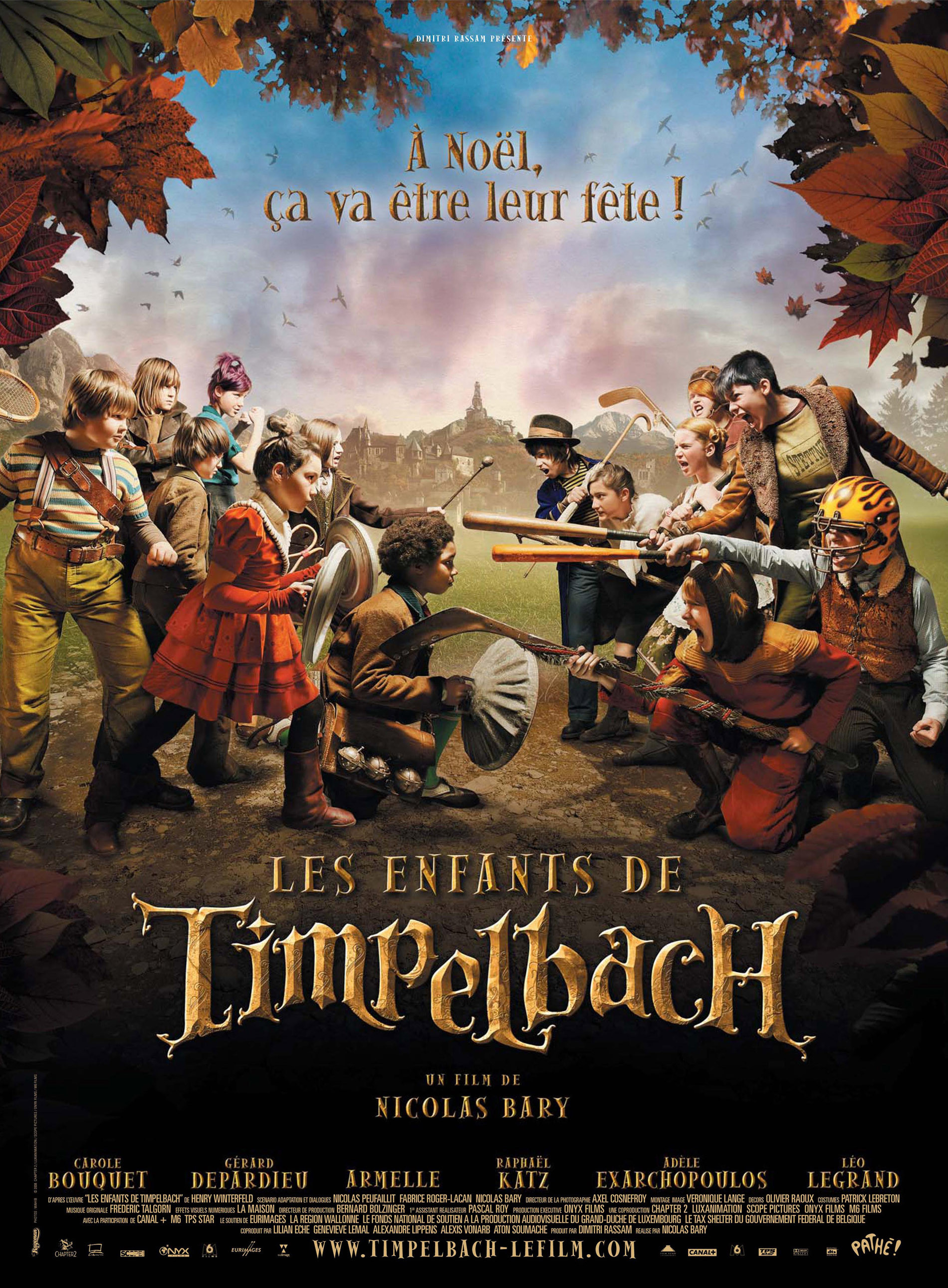 """Affiche du film """"Les enfants de Timpelbach"""""""