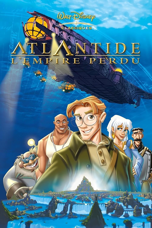 """Affiche du film """"Atlantide, l'empire perdu"""""""
