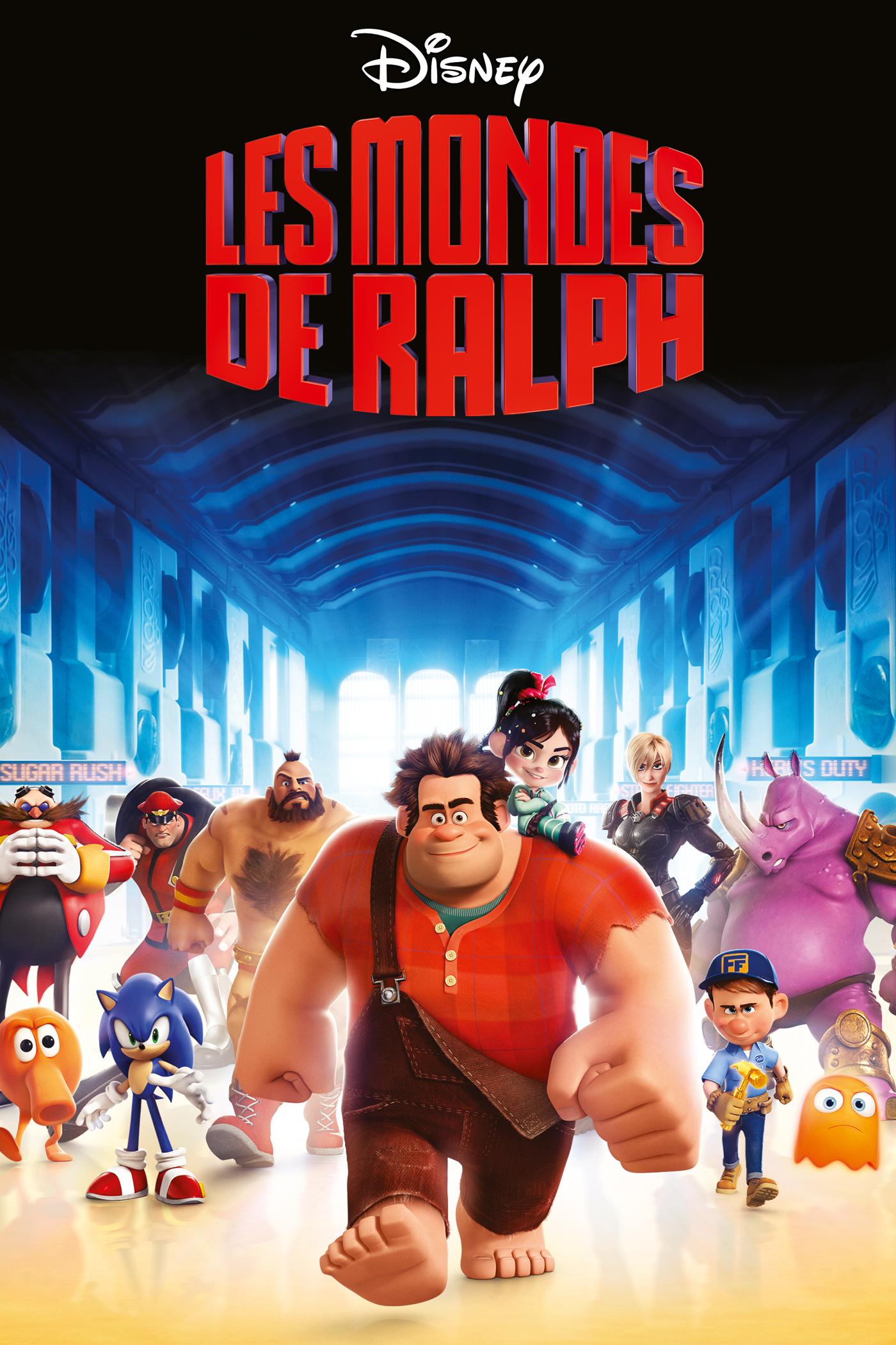 """Affiche du film """"Les Mondes de Ralph"""""""