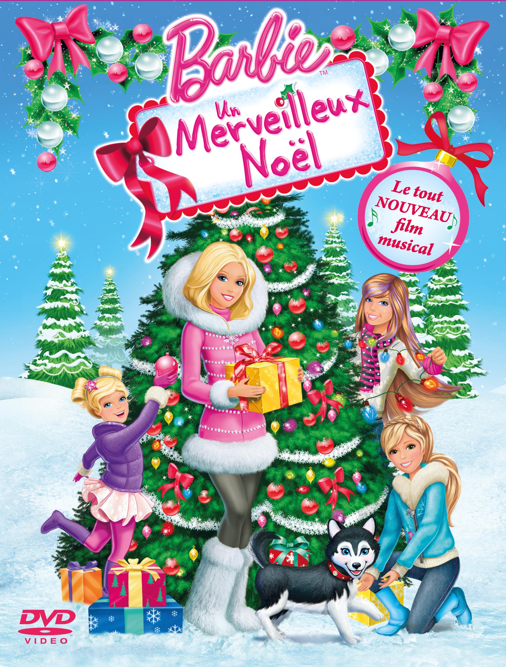 """Affiche du film """"Barbie : Un Merveilleux Noël"""""""