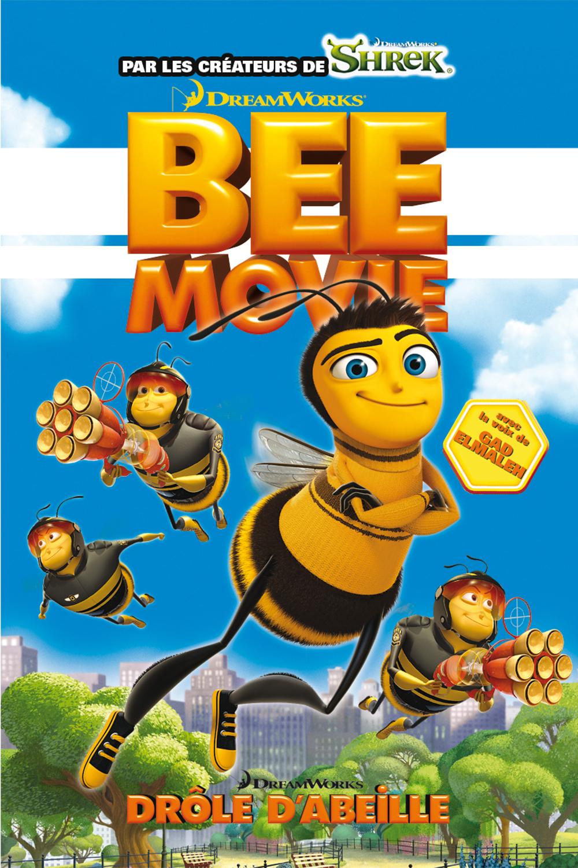"""Affiche du film """"Bee Movie : Drôle d'abeille"""""""