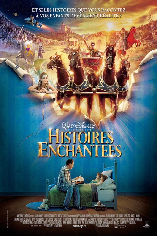 """Affiche du film """"Histoires enchantées"""""""