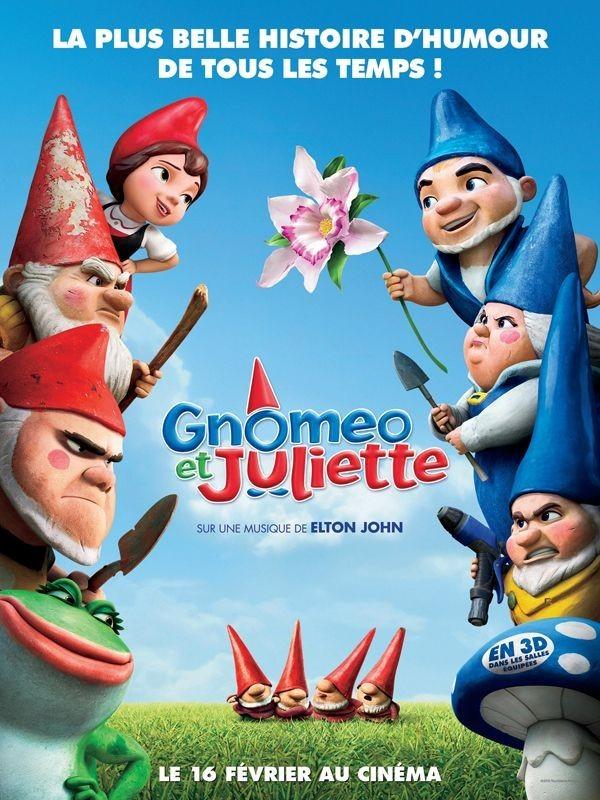 """Affiche du film """"Gnoméo et Juliette"""""""