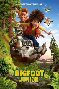 "Affiche du film ""Bigfoot Junior"""