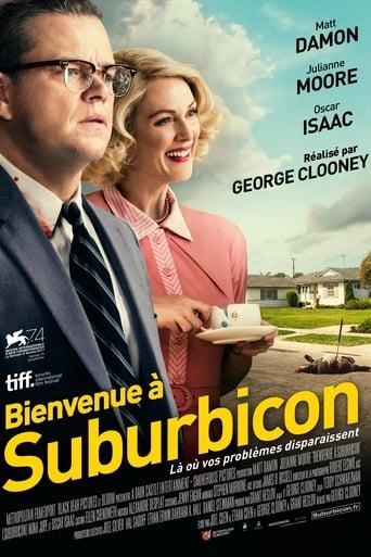 """Affiche du film """"Bienvenue à Suburbicon"""""""