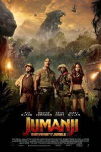 "Affiche du film ""Jumanji, Bienvenue dans la jungle"""