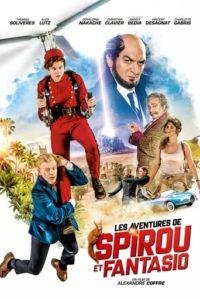 """Affiche du film """"Les Aventures de Spirou et Fantasio"""""""
