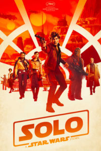 "Affiche du film ""Solo A Star Wars Story"""
